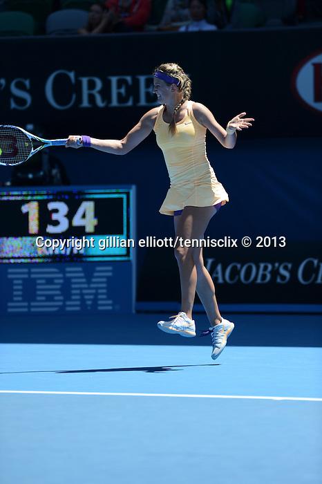 Victoria AZARENKA (BLR) wins at Australian Open in Melbourne Australia on 21st January 2013