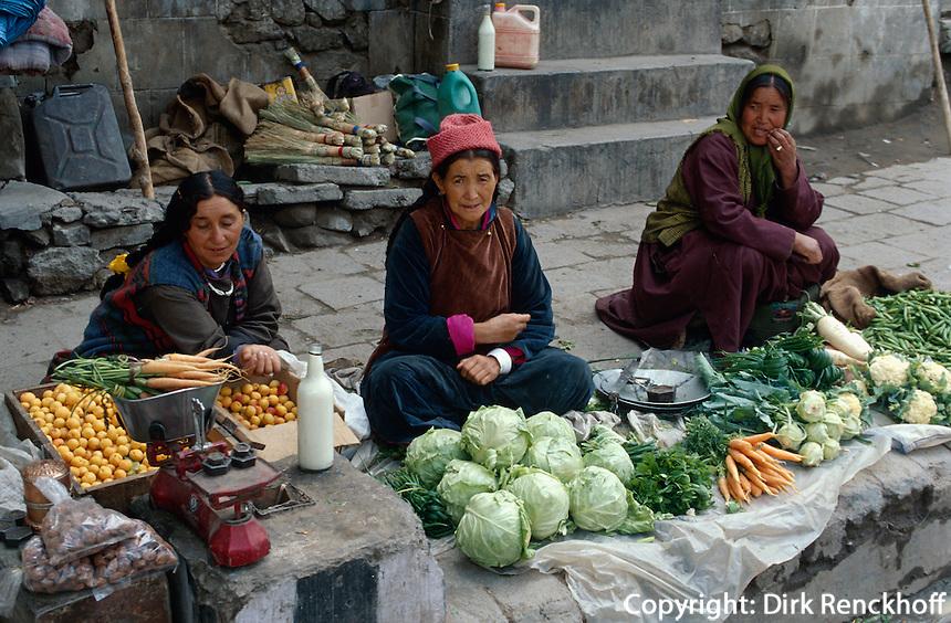Indien, Ladakh (Jammu+Kashmir), Leh: Markt