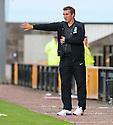 Hibs' manager Alan Stubbs.