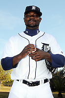 Feb 21, 2009; Lakeland, FL, USA; The Detroit Tigers pitcher Fernando Rodney (56) during photoday at Tigertown. Mandatory Credit: Tomasso De Rosa/ Four Seam Images