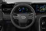 Car pictures of steering wheel view of a 2021 Toyota Mirai Executive 4 Door Sedan Steering Wheel