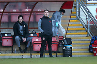 Leyton Orient manager Ross Embleton during Leyton Orient vs Port Vale, Sky Bet EFL League 2 Football at The Breyer Group Stadium on 20th February 2021