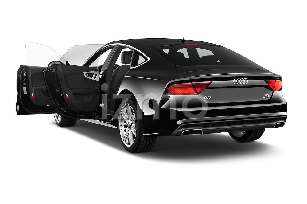 Car images of a 2015 Audi A7 S Line 5 Door Hatchback Doors