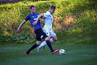 Action from the Chatham Cup football quarterfinal between Miramar Rangers and Auckland City FC at David Farrington Park in Wellington, New Zealand on Saturday, 31 July 2021. Photo: Dave Lintott / lintottphoto.co.nz