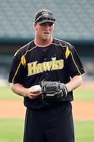 June 13th 2008:  Pitcher Billy Spottiswood of the South Bend Silver Hawks, Class-A affiliate of the Arizona Diamondbacks, during a game at Stanley Coveleski Regional Stadium in South Bend, IN.  Photo by:  Mike Janes/Four Seam Images
