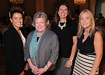 From left: Nastassia Veliz, Patty Freeman, Tabitha Casey and Traci Cupps at the Junior League of Houston's Opening Style Show & Luncheon Thursday Sept. 10,2015.(Dave Rossman photo)