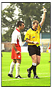 26th August 2000          Copyright Pic : James Stewart . File Name : stewart06-stirling v queens park              .ALBION'S GRAEME LOVE IS SENT OFF BY RFFEREE CJ MACKAY AFTER RECEIVING HIS SECOND YELLOW CARD.......Payments to :-.James Stewart Photo Agency, Stewart House, Stewart Road, Falkirk. FK2 7AS      Vat Reg No. 607 6932 25.Office : 01324 630007        Mobile : 0421 416997.E-mail : JSpics@aol.com.If you require further information then contact Jim Stewart on any of the numbers above.........