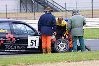 Round 4 of the 2002 British Touring Car Championship. #51 Rob Collard (GBR). Collard Racing. Renault Clio 172.
