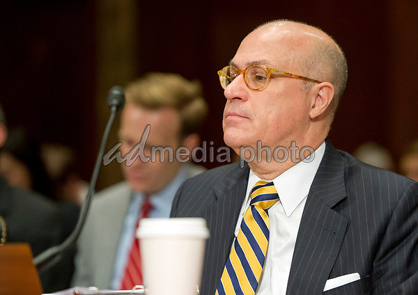 J. Christopher Giancarlo, Acting Chairman, Commodity Futures Trading Commission, testifies before the US Senate Committee on Appropriations Subcommittee on Financial Services and General Government hearing to examine proposed budget estimates and justification for fiscal year 2018 for the SEC and the CFTC on Capitol Hill in Washington, DC on Tuesday, June 27, 2017. Photo Credit: Ron Sachs/CNP/AdMedia