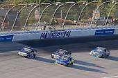 #38: Todd Gilliland, Front Row Motorsports, Ford F-150 Speedco, #4: Raphael Lessard, Kyle Busch Motorsports, Toyota Tundra SiriusXM