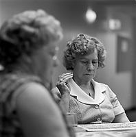 seniors play bingo<br /> in Hull or Ottawa  , circa 1975