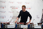"Michael Fassbender during the presentation of the film ""Assassin's Creed"" in Madrid, Spain. December 07, 2016. (ALTERPHOTOS/BorjaB.Hojas)"