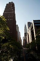 NEW YORK-NY-29-04-2012 . El Edificio Chrysler en la ciudad de Nueva York. The Chrysler Building in New York City (Photo: VizzorImage/Luis Ramirez)..