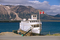 Tarahne Ferry, Atlin Lake, Atlin, BC, Canada