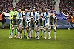 RCD Espanyol's team photo during La Liga match between Atletico de Madrid and RCD Espanyol at Wanda Metropolitano Stadium in Madrid, Spain. December 22, 2018. (ALTERPHOTOS/A. Perez Meca)