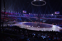 OLYMPIC GAMES: PYEONGCHANG: 09-02-2018, PyeongChang Olympic Stadium, Olympic Games, Opening Ceremony, Team Korea with unified flag, ©photo Martin de Jong