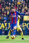 Lionel Andres Messi of FC Barcelona in action during their La Liga match between Villarreal and FC Barcelona at the Estadio de la Cerámica on 08 January 2017 in Villarreal, Spain. Photo by Maria Jose Segovia Carmona / Power Sport Images