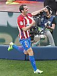 Atletico de Madrid's Diego Godin celebrates goal during La Liga match. March 19,2017. (ALTERPHOTOS/Acero)