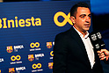 Soccer: FC Barcelona Tribute to Andres Iniesta