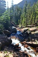 Stream below Cascade Falls