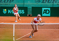 The Hague, Netherlands, 09 June, 2018, Tennis, Play-Offs Competition, Womans doubles: Nicole Thyssen (NED) and Raluca Serban (R)<br /> Photo: Henk Koster/tennisimages.com