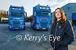 Orla McAuliffe of McAuliffe Trucking Company in Castleisland