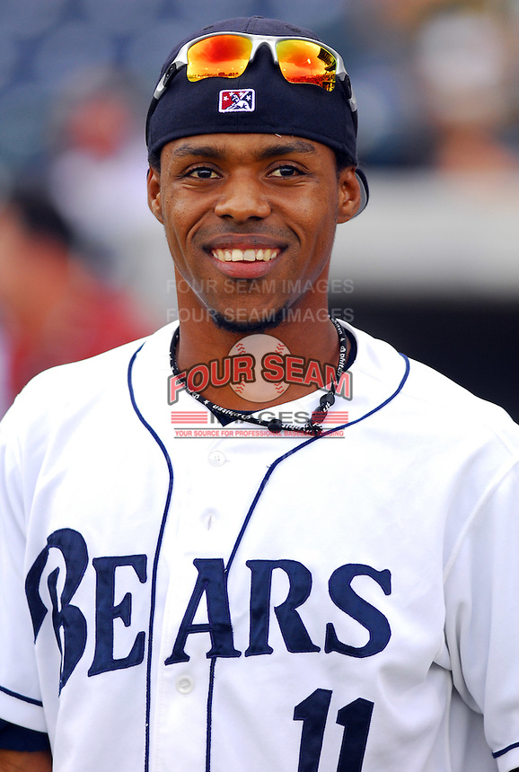 Wilkin Castillo of the Mobile Bay Bears at the 2007 Southern League All-Star Game July 9, 2007, at Trustmark Park in Pearl, Miss. Photo by:  Tom Priddy/Four Seam Images
