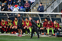 Chester, PA - Sunday December 10, 2017: Jeremy Gunn. Stanford University defeated Indiana University 1-0 in double overtime during the NCAA 2017 Men's College Cup championship match at Talen Energy Stadium.