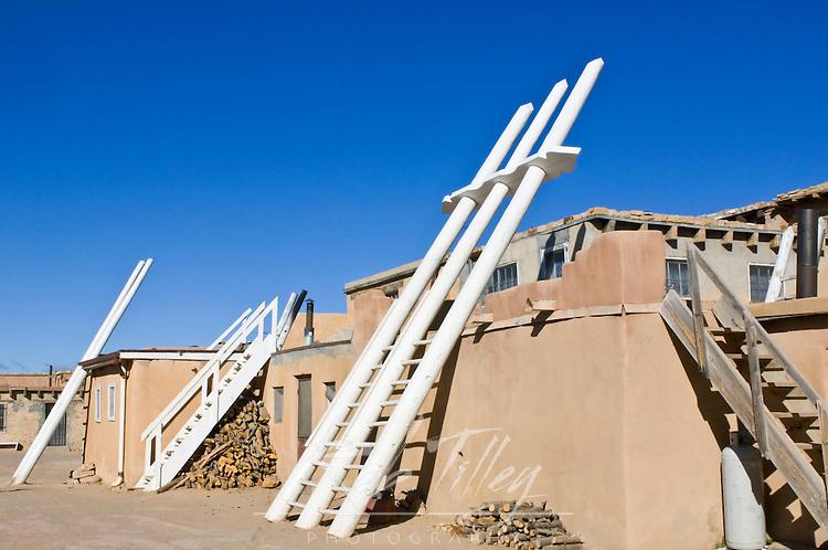 USA, NM, Acoma Pueblo, Sky City Village