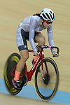 Yang Qianyu of the IND competes in the Women Elite - Pointe Race 20km Final category during the  Hong Kong Track Cycling National Championships 2017 at the Hong Kong Velodrome on 18 March 2017 in Hong Kong, China. Photo by Chris Wong / Power Sport Images