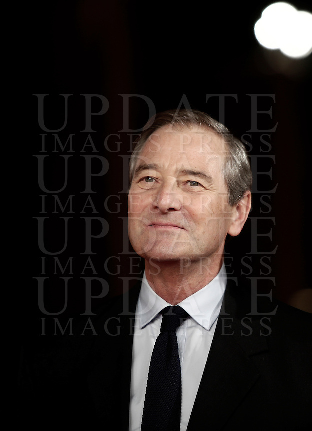 British actor Julian Wadham poses on the red carpet as he arrives for a special screening of the movie The English Patient during the international Rome Film Festival at Rome's Auditorium, 22 October 2016. The Film Festival celebrates one of the most beloved of Cinema History 'The English Patient' by Anthony Minghella, released twenty years ago (in 1996). <br /> UPDATE IMAGES PRESS/Isabella Bonotto