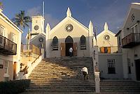 church, Bermuda, St. George's Parish, St. Peter's Church (oldest Anglican church) in St George in Bermuda.
