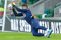 BELFAST, NORTHERN IRELAND - MARCH 28: Zack Steffen # 1 of the United States during a game between Northern Ireland and USMNT at Windsor Park on March 28, 2021 in Belfast, Northern Ireland.