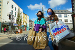 Sarah Sestini Tralee and Sarah O'Shea Tralee shopping in Tralee on Tuesday.