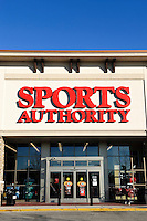 Sports Authority store.