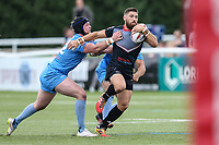 Jarrod Sammut of London Broncos during the Kingstone Press Championship match between London Broncos and Sheffield Eagles at Castle Bar , West Ealing , England  on 9 July 2017. Photo by David Horn.
