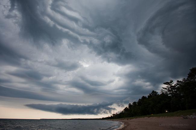 Stormclouds, Lake Superior