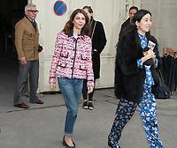 Sofia Coppola - DÈfilÈ 'Chanel' au Grand Palais lors de la Fashion Week ‡ Paris, le 07/03/2017. # LES PEOPLE ARRIVENT AU DEFILE 'CHANEL' - FASHION WEEK DE PARIS