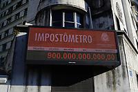 17.05.2018 - Impostômetro da ACSP atinge R$ 900 bilhões em SP