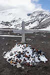 Tommerm Hans A Culliksen 1871-1928 Grave Deception Island, Antarctica