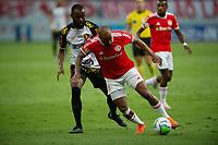 10th February 2021; Beira-Rio Stadium, Porto Alegre, Brazil; Brazilian Serie A, Internacional versus Sport Recife; Patrick of Internacional and Marcao of Sport Recife