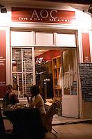 restaurant AOC terrace avignon rhone france