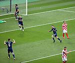 22.06.2021 Croatia v Scotland: Callum McGregor scores and celebrates