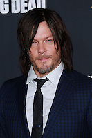 UNIVERSAL CITY, CA, USA - OCTOBER 02: Norman Reedus arrives at the Los Angeles Premiere Of AMC's 'The Walking Dead' Season 5 held at AMC Universal City Walk on October 2, 2014 in Universal City, California, United States. (Photo by David Acosta/Celebrity Monitor)
