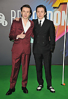"""Christian Lees and Jonah Lees at the 65th BFI London Film Festival """"The Phantom of the Open"""" world premiere, Royal Festival Hall, Belvedere Road, on Tuesday 12th October 2021, in London, England, UK. <br /> CAP/CAN<br /> ©CAN/Capital Pictures"""