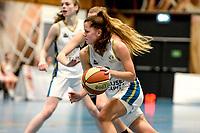 13-03-2021: Basketbal: Keijser Capital Martini Sparks v Grasshoppers: Haren Martini Sparks speelster Meike Koelman