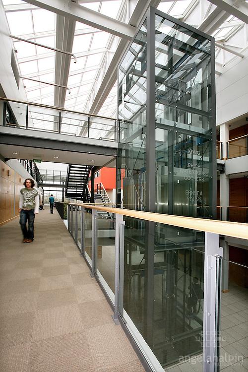 UCD Quinn School of Business, Dublin,   Interiors