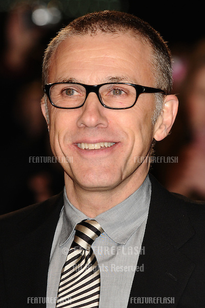 """Christoph Waltz arriving for the """"Django Unchained"""" premiere, Empire Leicester Square, London. 10/01/2013 Picture by: Steve Vas / Featureflash"""