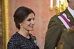 Queen Letizia of Spain attends to Pascua Militar at Royal Palace in Madrid, Spain. January 06, 2019. (ALTERPHOTOS/Pool)