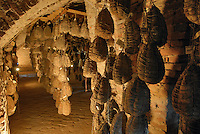 - aging of culatello ham at the agricultural company Spigaroli<br />